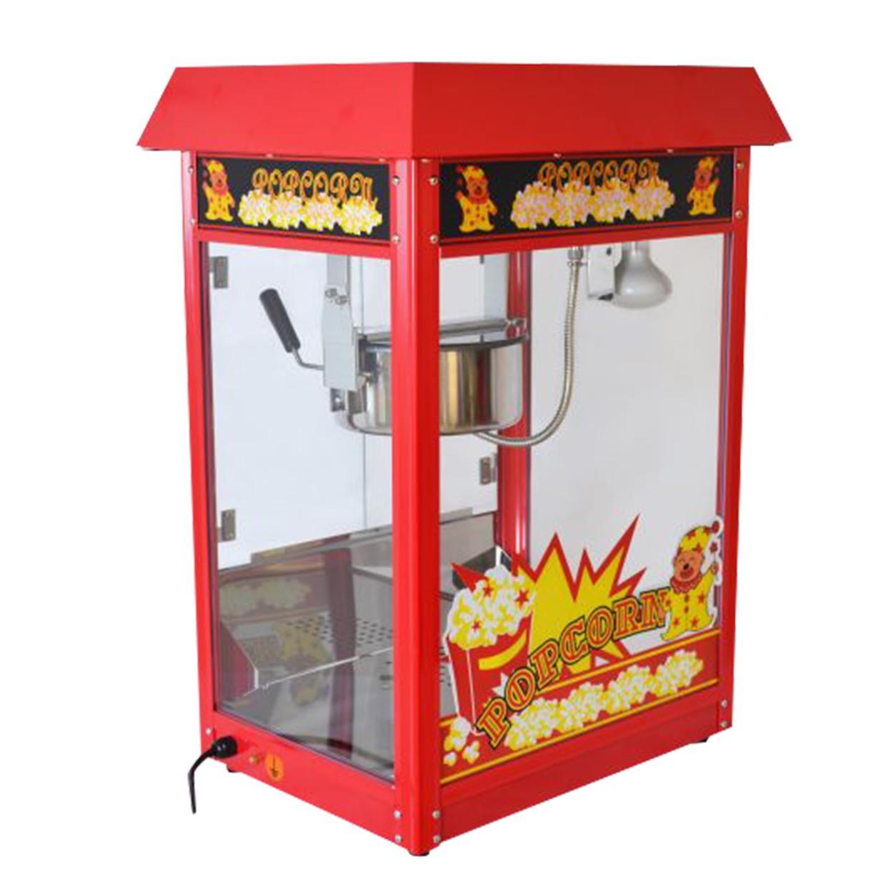 popcornmaschine popcornmaker mit wagen edelstahltopf w rmeplatte. Black Bedroom Furniture Sets. Home Design Ideas