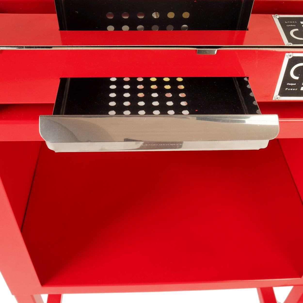 gro e popcornmaschine f r knusprige popcorn mit w rmeplatte und innenbeleuchtung ca 5 kg. Black Bedroom Furniture Sets. Home Design Ideas